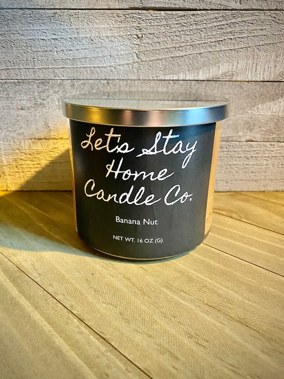 Banana Nut | Handmade Soy Candle | Scented Candle