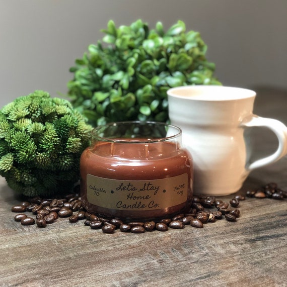 Fresh Brewed Coffee | Handmade Soy Candle | Food Candles | Kitchen Scents | Scented Candles