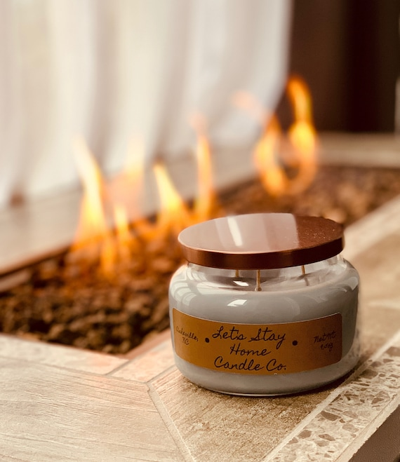 Fireside | Handmade Soy Candle | Large | Three Wick Candle | Campfire