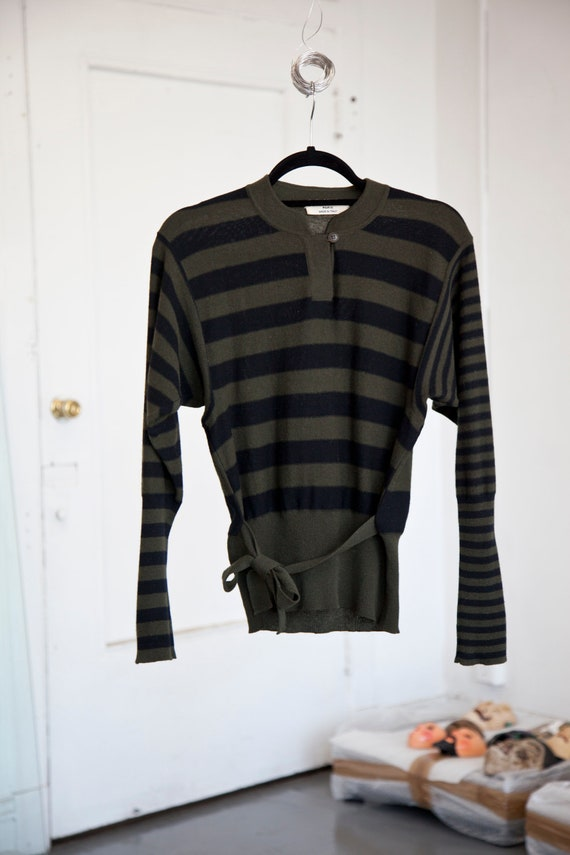 Vintage Sonia Rykiel Striped Sweater