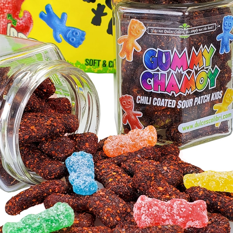 7oz Jar  Premium Sour Patch Kids Coated In Our Signature image 0