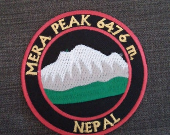 3 Inch Scafell Pike 3 Peaks Mountain Walking Souviner Iron or Sew On Patch Badge