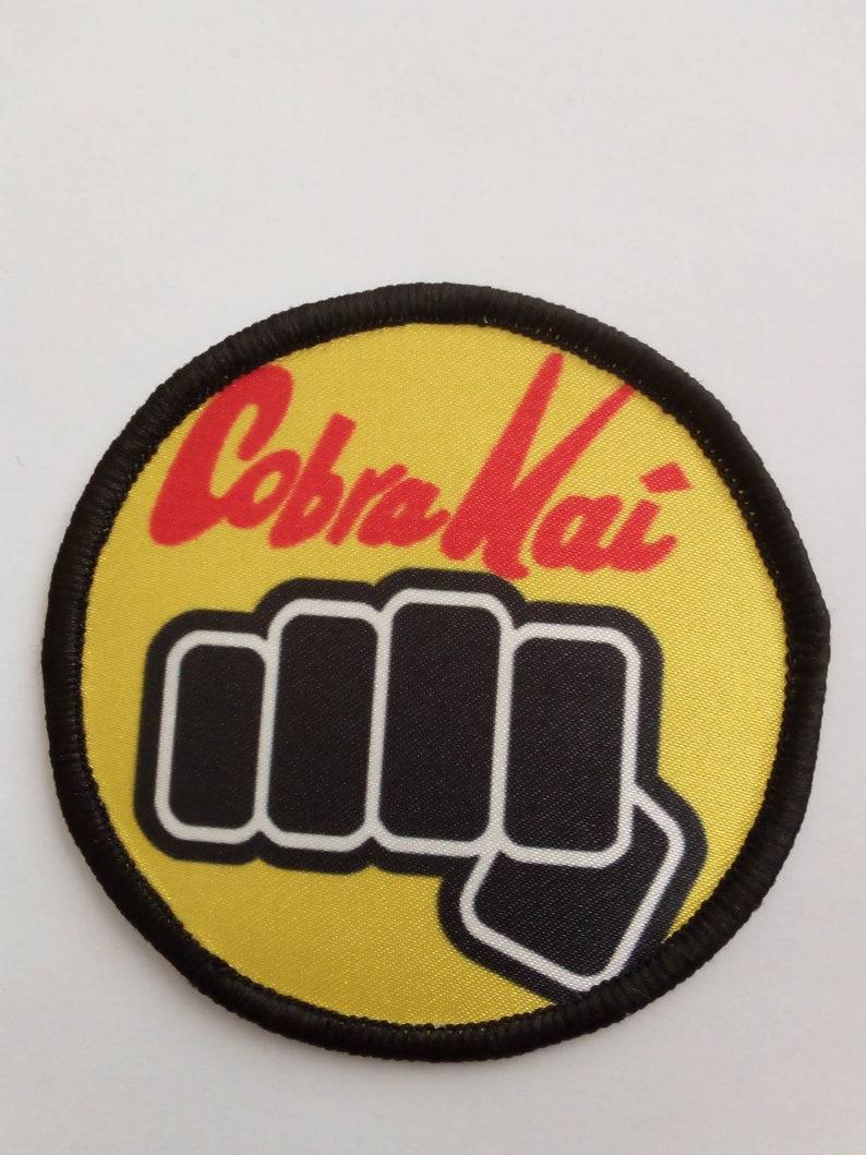 8cm Patch Badge Badge cobra kai Karate kid