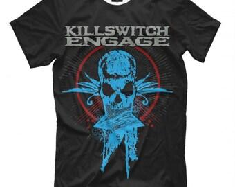 Skull Spraypaint Killswitch Engage Men/'s Tee