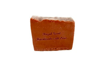 Pink clay soap facial cleansing soap