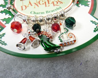 1 Fun World Christmas Jewels Bracelets and Charms New Sealed Santa Frosty The Snowman and Angel
