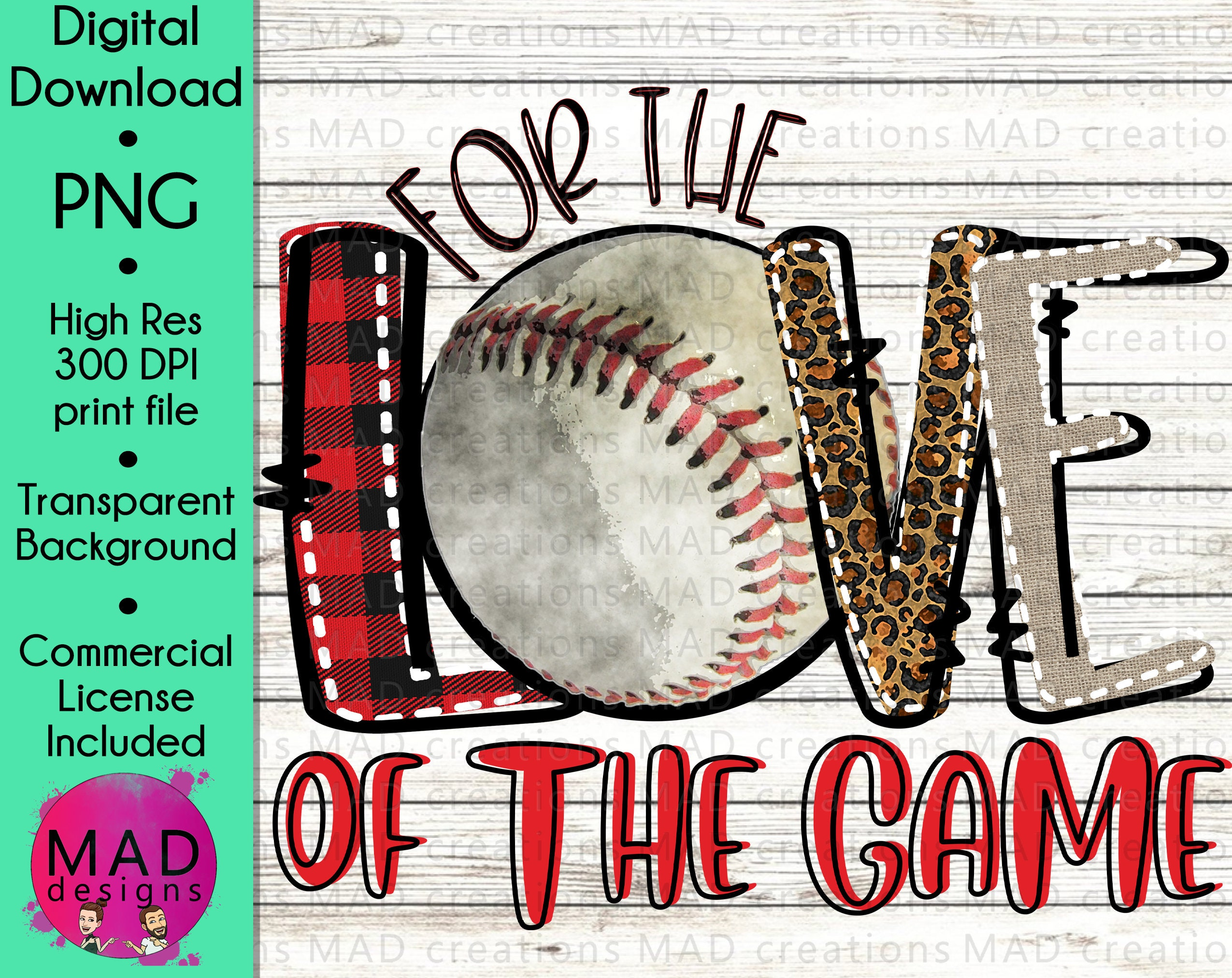 Basketball and Softball PNG Basketball and Softball For the Love of the Game Sublimation Designs Downloads PNG Files for Sublimation