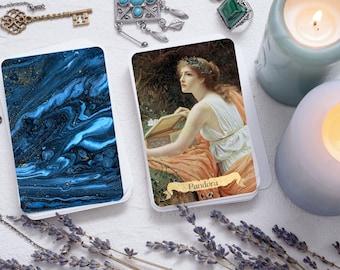 SELF PUBLISHED Delphi Oracle Divination Deck 4th Edition w/ Art Print