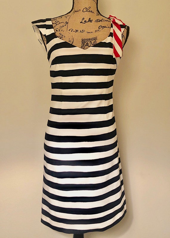 Vintage Moschino Late 1990's Midi Dress
