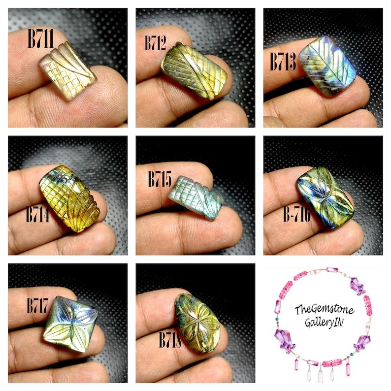 Gemstone Labradorite Carving Gemstone For Jewelry
