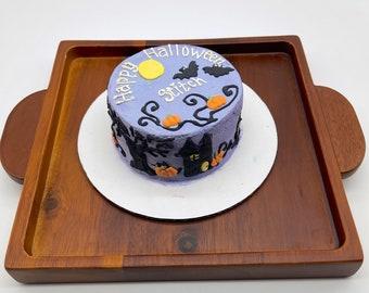 Halloween Dog Cake