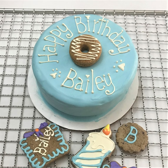 Dog Birthday Cake for a Pawty