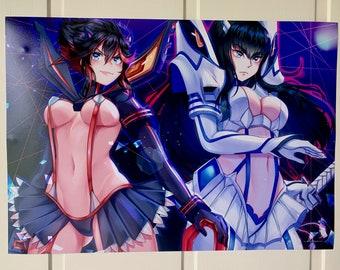 Ryuko Matoi Kiryuin Satsuki Kill la Kill A4 print