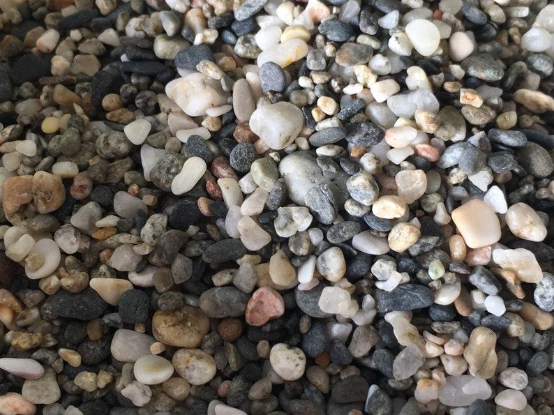 aquarium Terrarium Stones Natural Pebbles Natural Stones Pretty Unique Beach Stones Mediterranean Stones Art Stones Mixed stones