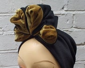 1940s Hair Snoods- Buy, Knit, Crochet or Sew a Snood FOLD TURBAN  vintage style 30s 40s land girl 50s $20.53 AT vintagedancer.com