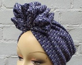 1940s Hair Snoods- Buy, Knit, Crochet or Sew a Snood FOLD TURBAN  vintage style 30s 40s land girl 50s $20.29 AT vintagedancer.com
