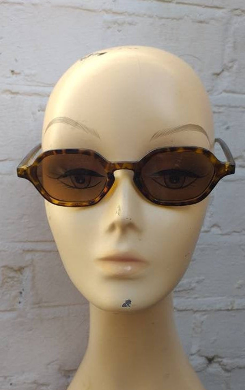 Retro Sunglasses | Vintage Glasses | New Vintage Eyeglasses Sunglasses Leo 1930s 1940s style $11.54 AT vintagedancer.com