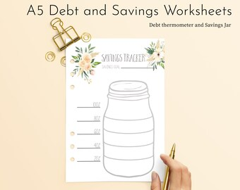photograph regarding Savings Jar Printable named Financial savings printable Etsy