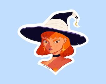 Witch Sticker - Accessories Decoration