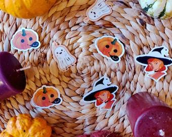 Halloween Stickers Set - Accessories Decoration