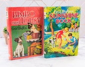 Enid Blyton Children 39 s Books Set of 2 Bimbo and Topsy - Sunshine Book