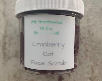 Cranberry Oat Face Scrub