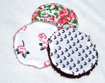 reusable make-up pads, sustainable cotton pads, washable