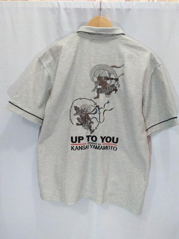 Vtg Kansai Yamamoto 90s Embroidery Spellout