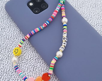 Phone Charm SWEET HEARTS I Mobile Phone Pendant I Y2K-Style I Mobile Phone Chain Bracelet I Phone Strap I Phone Candy I Mobile Phone Jewelry I Mobile Phone Straps