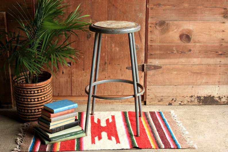 Super Vintage Bar Stool From The 1940S Cjindustries Chair Design For Home Cjindustriesco