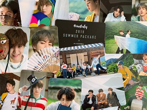 Bts Photocards Summer Package In Korea Series Etsy
