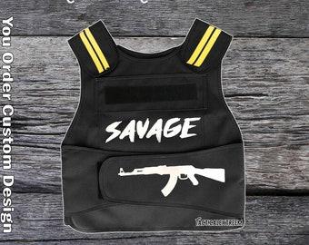 Bullet proof vest fashion