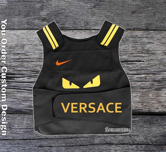 Custom Tactical Black Vest