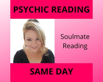 SOULMATE PSYCHIC READING, Soulmate Reading / Soulmates / Love Reading / Twin Flame Reading / Soulmate Reading / Future Soulmate, Soulmates