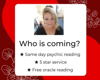 WHO IS COMING To You, Love Reading