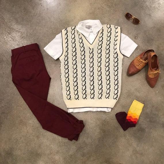 Vintage Valentino sweater vest - image 1