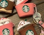 Starbucks, Frappuccino AirPod case 1/2, and Pro