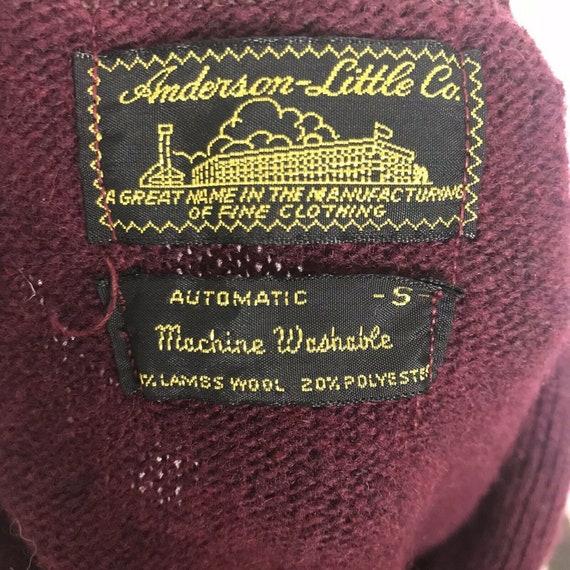 Vintage Anderson Little Sweater Vest - image 4