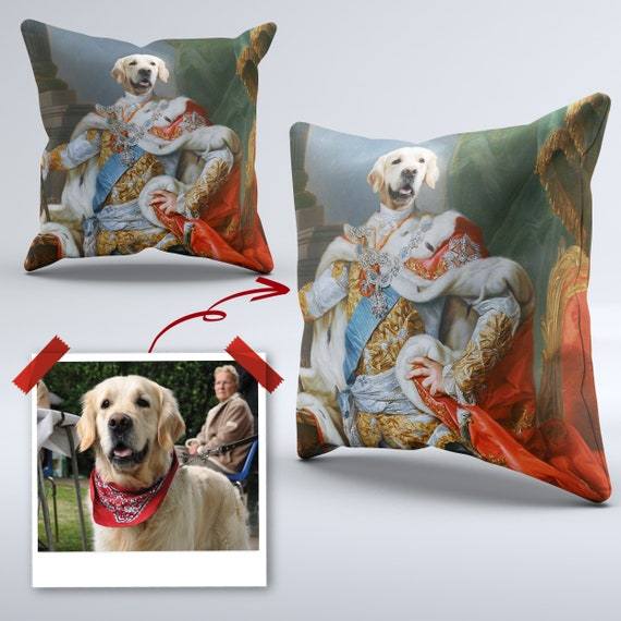 Gifts For Her Christmas Gift Birthday Gift Pet Lovers Gift Gifts For Him Pet Portrait Cushions