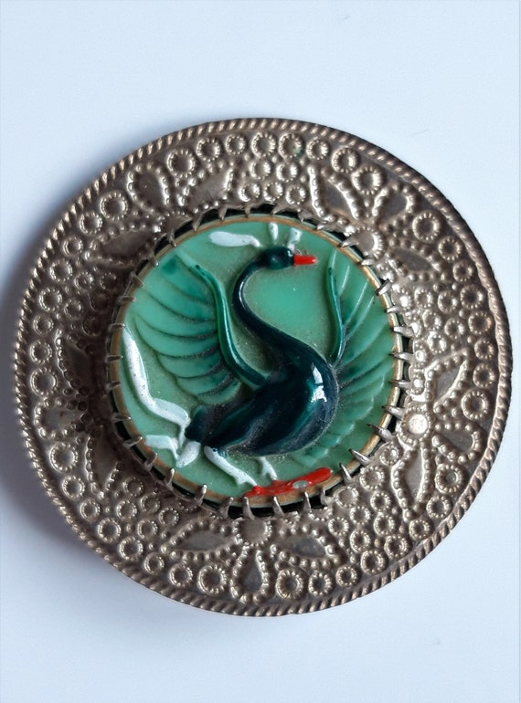 Art Deco Bohemian Hat Pin - image 5