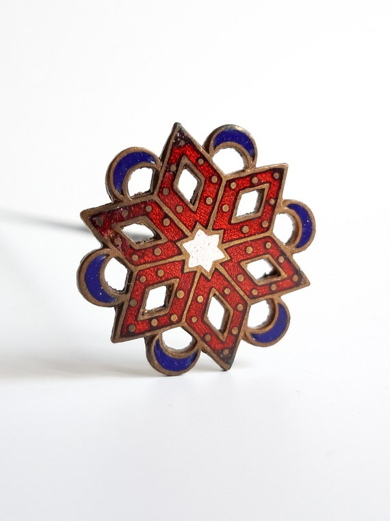 Antique Viennese Hat Pin - image 2