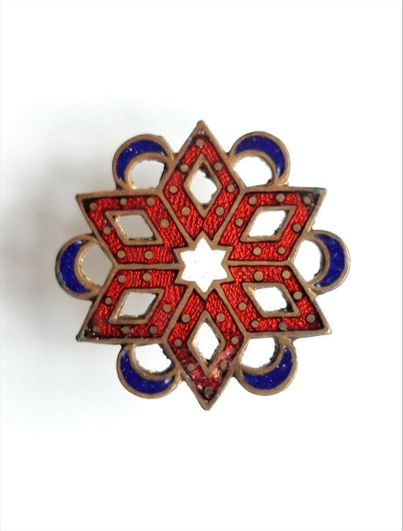 Antique Viennese Hat Pin - image 5