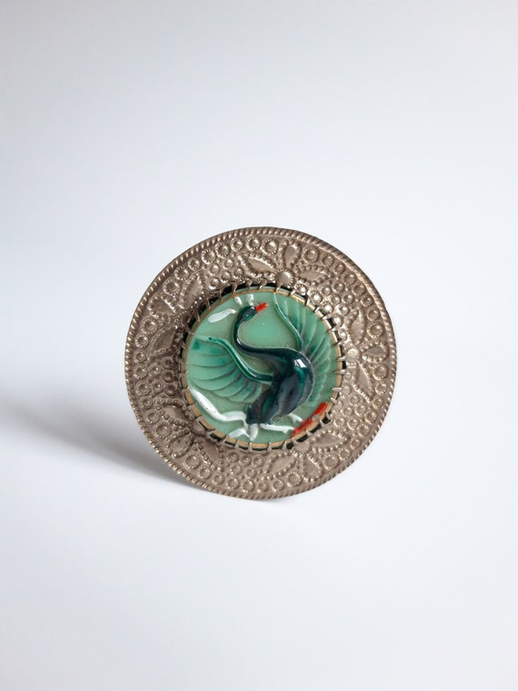 Art Deco Bohemian Hat Pin - image 2