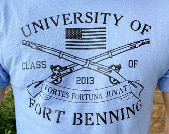 Fort Benning T-Shirt | Infantry Shirt | Univ of Fort Benning | Benning University | 11Bravo Shirt | Army BCT Shirt | US Army | Army Infantry