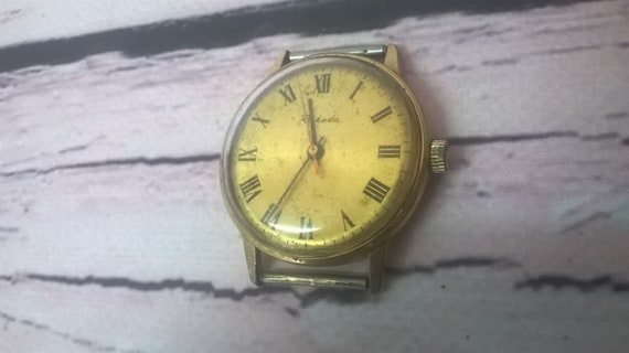 Watches, Gilding Watches, Soviet Watches, Rocket W