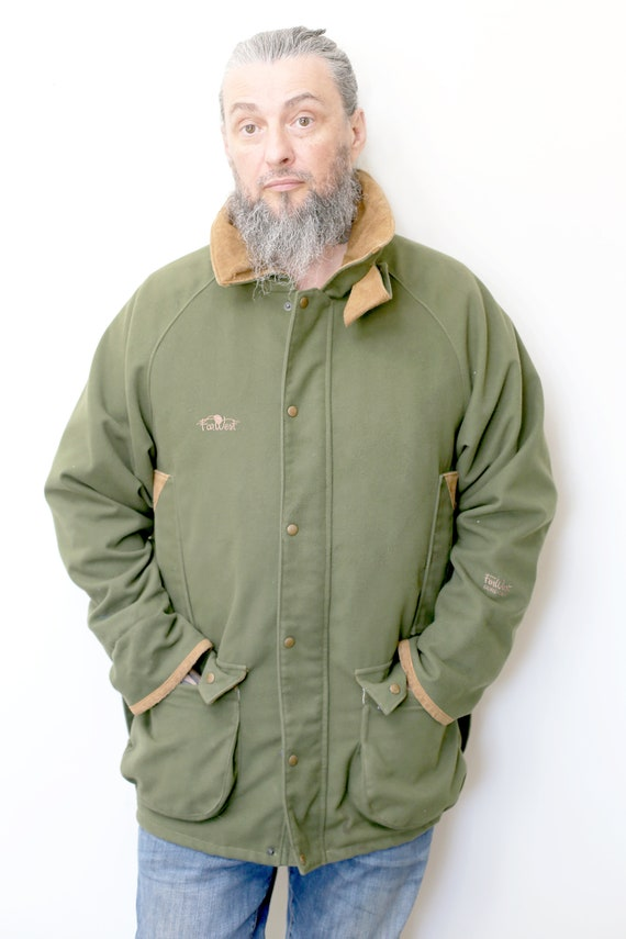 1970s Vintage - Olive Green Insulated Gore-Tex Jac