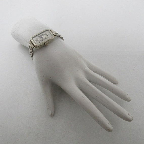 1920s Art Deco Watch Sterling