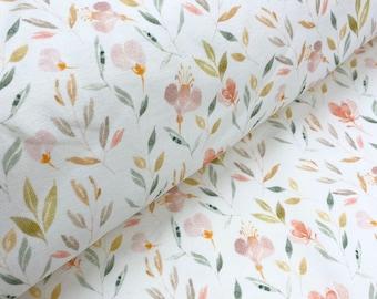 Cottonjersey Summer Flowers Jersey - Ökotex 100