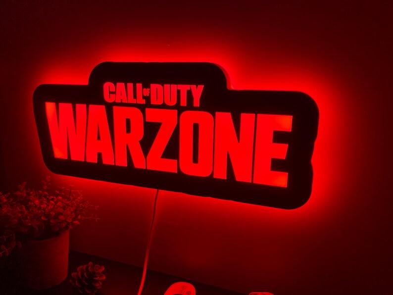 7. Call of Duty Warzone LED RGB Lamp