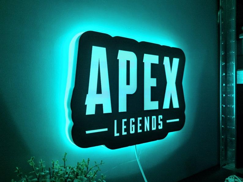 14. Apex Legends LED RGB Lamp